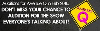 Closed: Auditions – Avenue Q