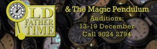 Closed: Old Father Time and the Magic Pendulum Auditions
