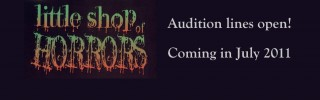 Closed: Little Shop of Horrors Auditions